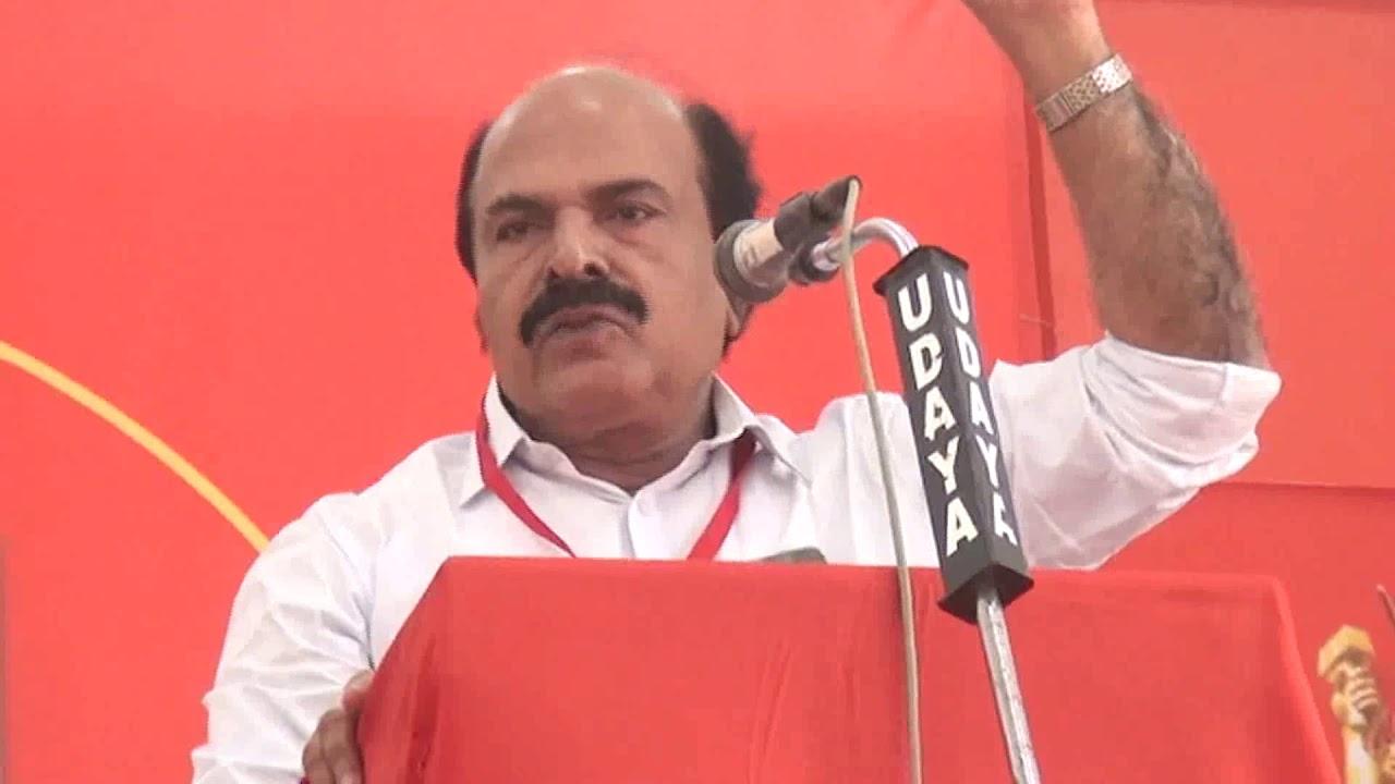 C K Shashidharan CPI District Secretory
