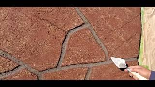 Piedra plana sin molde sin pintura acrílica