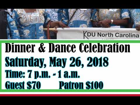 KDU North Carolina Fundraising Dance