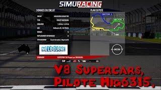 V8 Supercars - Melbourne - Nissan Altima V8SR - Mig6315 - rFactor 2 -
