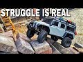 Traxxas TRX-4 fails, the struggle is real lol