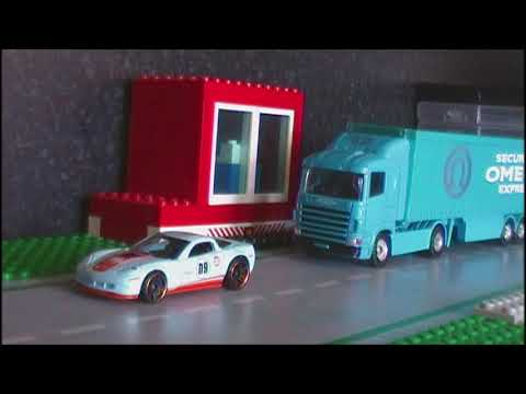 A Brief History of the Car 1900-To Now (Stop motion)