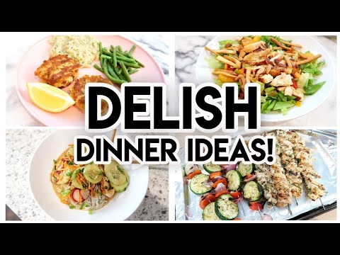 DINNER IDEAS FOR YOUR FAMILY! �� COOK WITH ME �� SIX DINNERS + 1 DESSERT! �� WHAT'S FOR DINNER?