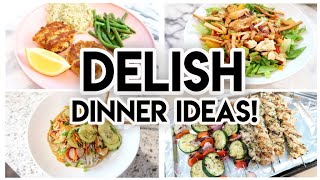 DINNER IDEAS FOR YOUR FAMILY! 🍽 COOK WITH ME 🥗 SIX DINNERS + 1 DESSERT! 🍓 WHAT'S FOR DINNER?