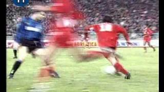 Italian Serie A Top Scorers: 1995-1996 Igor Protti (Bari) 24 goals