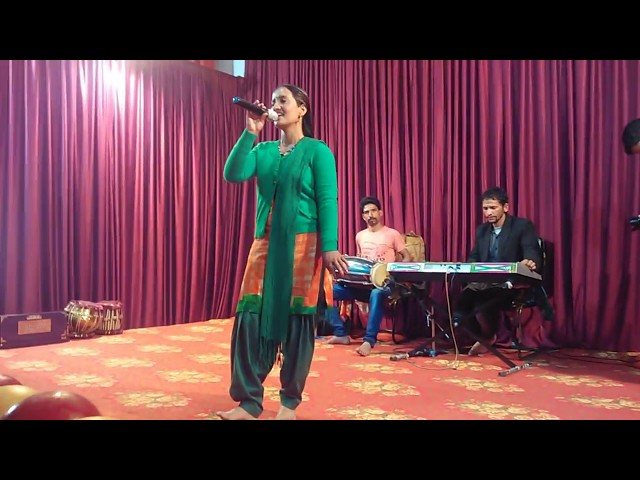 The Best Live Performance by Himachali folksinger