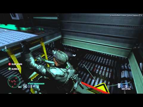 Splinter Cell Blacklist - Special Mission HQ - Perfectionist Walkthrough (Collectible,Ghost,No Kill)