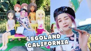 [美國Vlog] 樂高樂園竟然這麼厲害 !? 幼稚鬼天堂 Legoland Star Wars Ninjago   沛莉 Peri