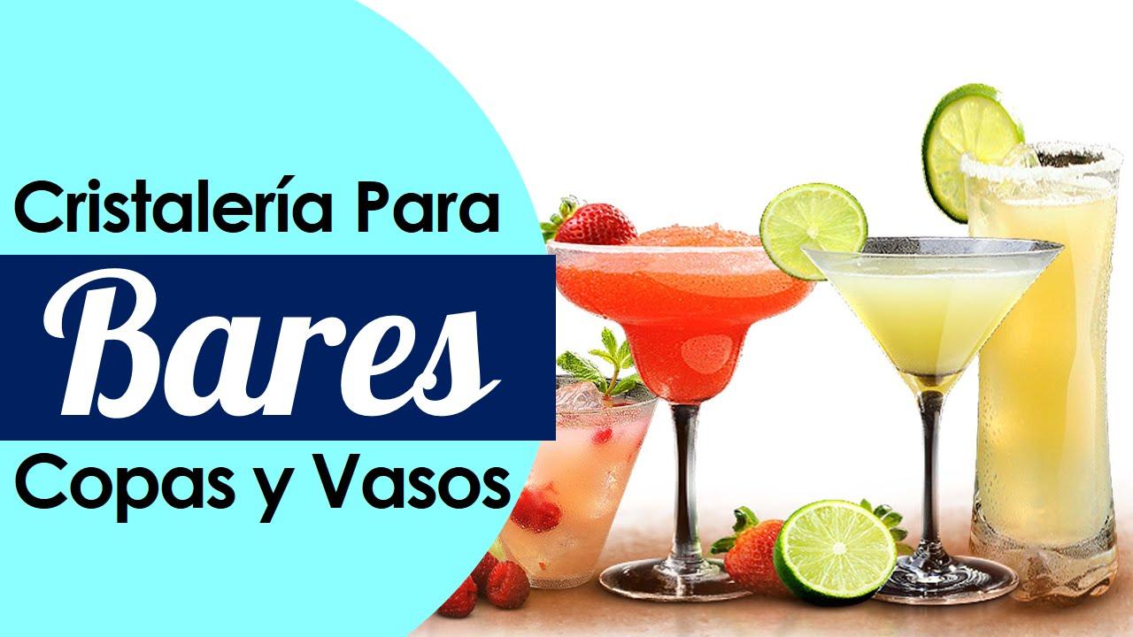 Cristaleria para bar copas y vasos para cocteles youtube for Copas y vasos para bar