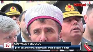 (0.00 MB) Şehit askerin cenaze namazını imam babası kıldırdı Mp3