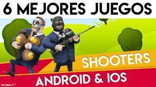 6 MEJORES JUEGOS ¡SHOOTERS y de SUPERVIVENCIA ANIMADOS! | 100% GRATIS para Android & iOS