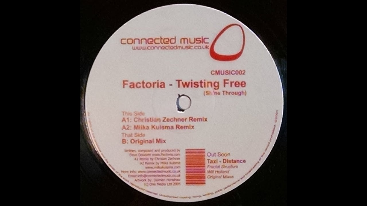 Awesome {Vinyl} Factoria   Twisting Free (Shine Through) (Christian Zechner Remix)