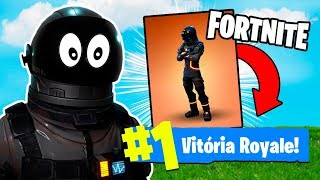 FORTNITE-I TOOK THE SKIN OF THE DARK VOYAGER AND WON!