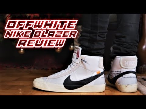 4c3f619fc39b OFF WHITE NIKE BLAZER Review and On-Feet