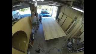 Denizen Teardrop Trailer Build — Ceiling Part 1
