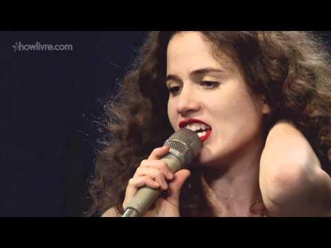"""Ana Cañas em """"Blues da piedade"""" no Estúdio Showlivre"""
