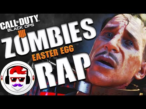 Black Ops 4 Zombies Easter Egg RAP SONG | Blood of the Dead | Rockit Gaming ft  Borderline Disaster