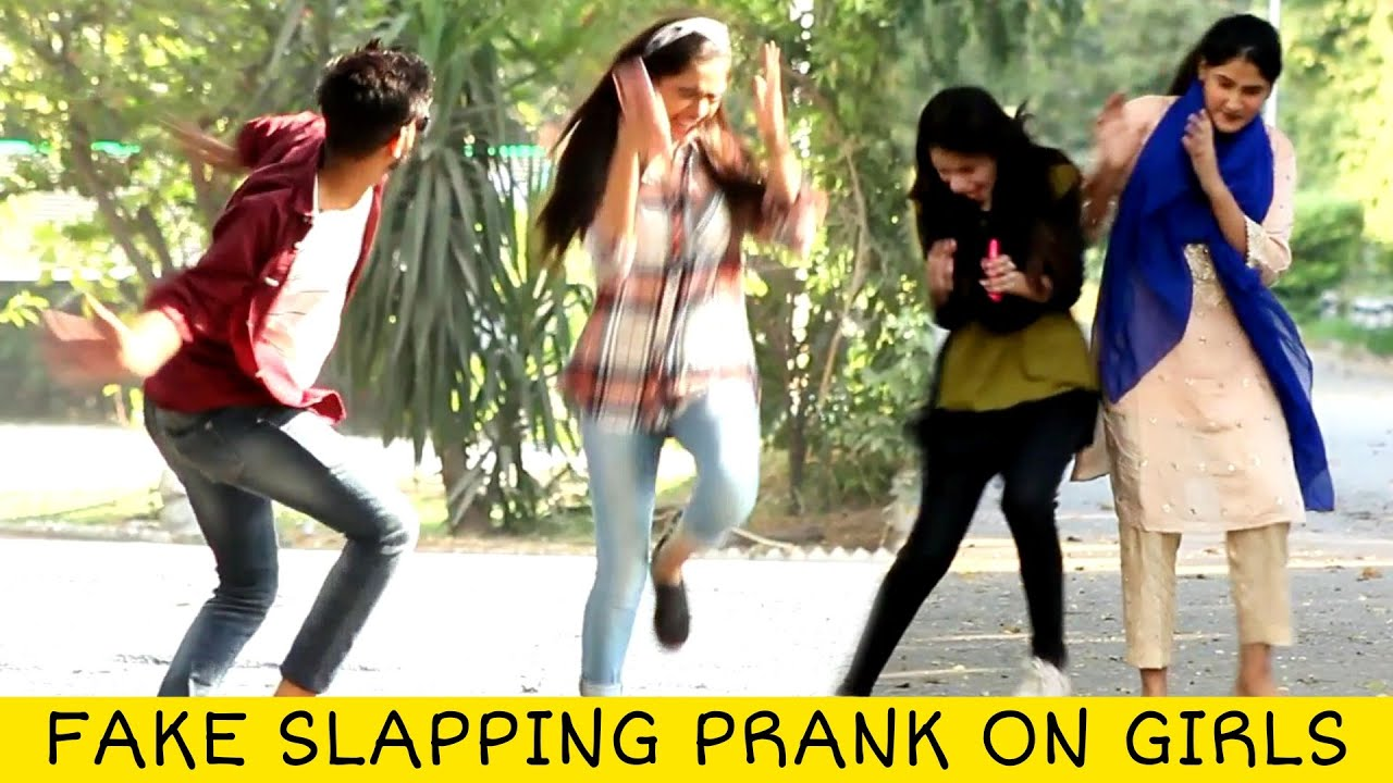 Fake Slapping Prank on Cute Girls 😲😲 @That Was Crazy