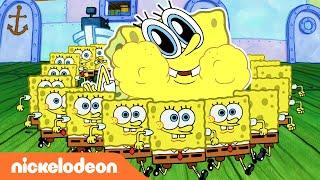 SpongeBob Schwammkopf | Top-12-SpongeBob-Superkräfte | Nickelodeon Deutschland