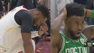 LeBron James vs Kyrie Irving 1st Meeting! Gordon Hayward Injury - Celtics vs Cavs