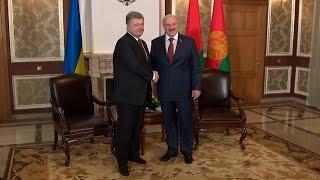 Беларусь и Украина сумеют справиться с существующими проблемами ради блага своих народов - Лукашенко
