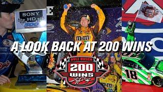 Gambar cover Kyle Busch 200 NASCAR Wins | A Look at Each Win