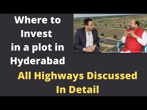 Where to Buy a plot in Hyderabad Realestate ?All Highways Explained by Realtor Dr. Srinivas Dantu