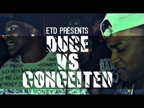 ETD | RAP BATTLE | CONCEITED VS DUCE
