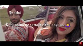 Udaarian Whatsapp Status   Satinder Sartaaj  Jatinder Shah  Sufi Love Songs  New Punjabi Songs 2018