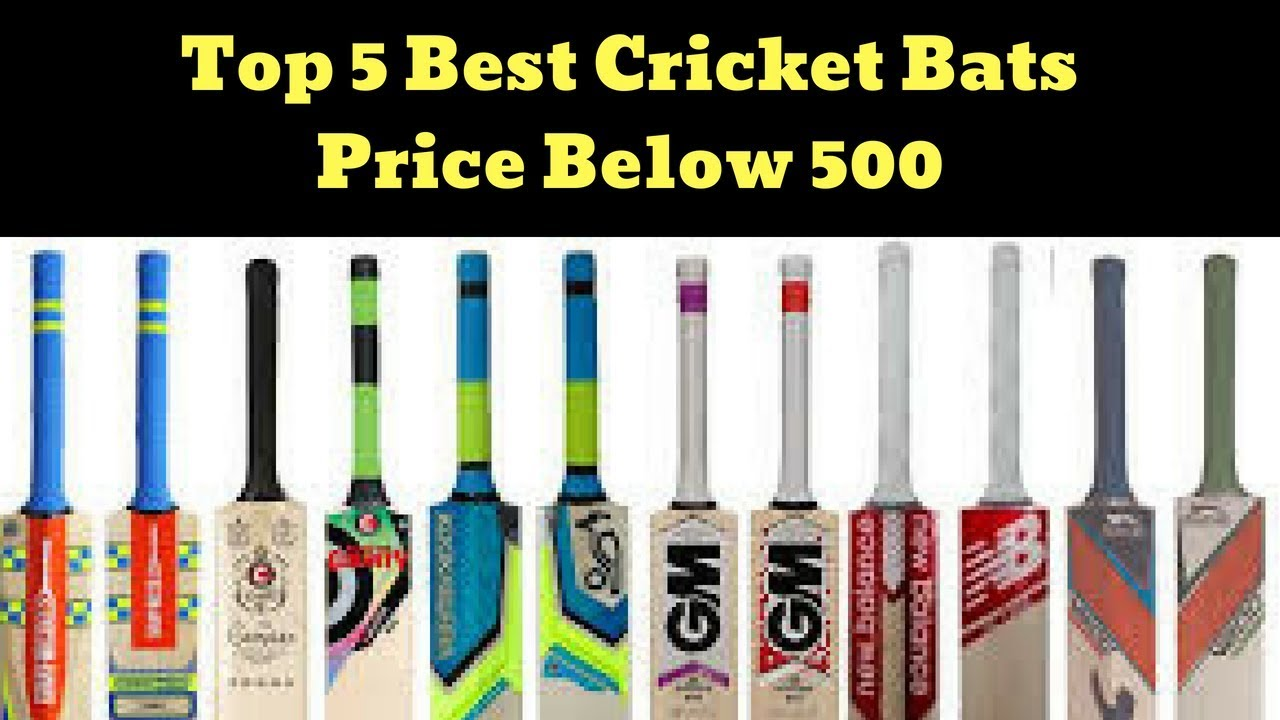 e86bbbfbc Top 5 Best Cricket Bat Price under 500 Rs In India 2018 (Cricket Kit ...