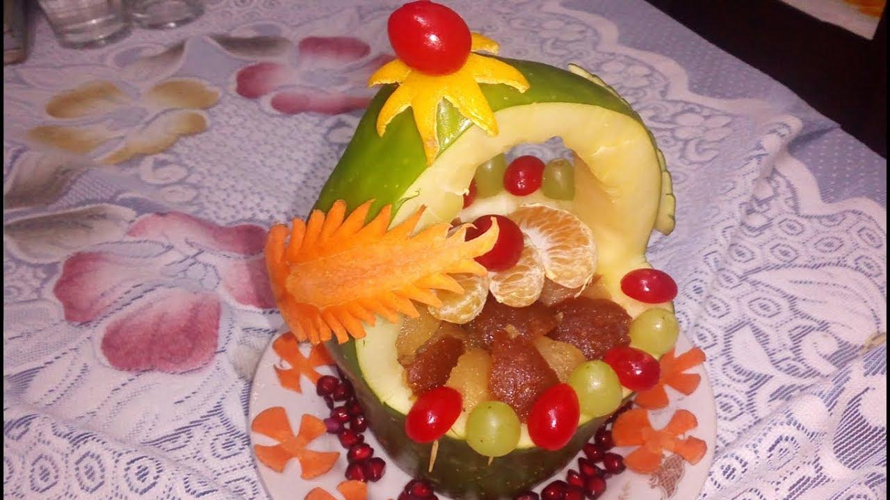 Gaye Holud Fruit Decoration Youtube