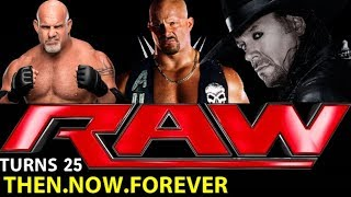 "Are You Ready for Some Wrestling? WWE's ""Raw"" marks 25 years  