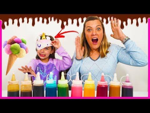 3 Marker Challenge ice cream with Laurinha