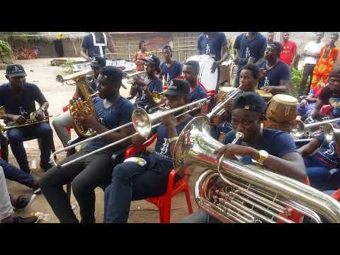 BLUE WAVES BAND, ACCRA- GHANA (AGBAJA)