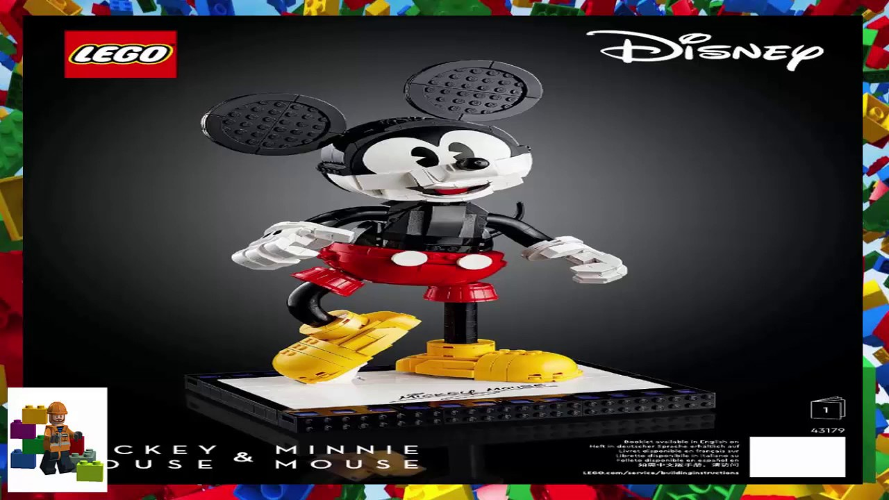 LEGO instructions - Disney - 43179 -  Mickey Mouse and Minnie Mouse (Book 1)