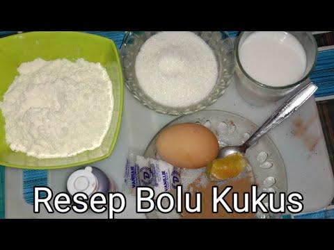 Resep Bolu Kukus satu telur   resep masakan indonesia sehari hari