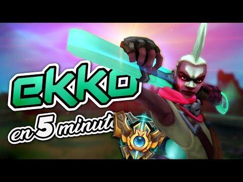 Cómo juega un CHALLENGER a Ekko | Guia Ekko s8 | League Of Hexania
