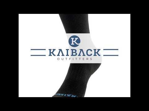 Quality Crew Footwear Pack of 6 Pairs Kaiback Men/'s Performance Dress Socks