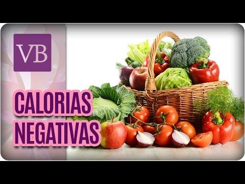 Alimentos com Calorias Negativas - Você Bonita (30/03/17)