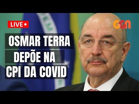 OSMAR TERRA NA CPI DA COVID l TERÇA (22/06/21)