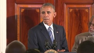 Obama speaks on police, race relations
