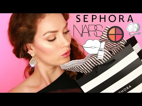 Sephora Haul   Unboxing Swatch & Review   NARS 500 POINT Giveaway Gift Set By Rita Almusa