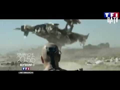 TF1 Bande Annonce 2016 - Elysium