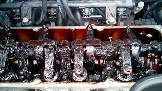 Машина из Германии, закоксованный двигатель.