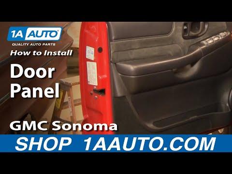 How To Remove Door Panel 96 04 Gmc Sonoma Youtube