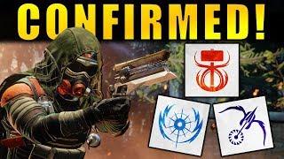 Destiny 2: TTK SUBCLASSES CONFIRMED! Sunbreaker, Nightstalker, & Stormcaller Returning!