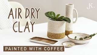 DIY - easy Air Dry Clay projects for Home Decor