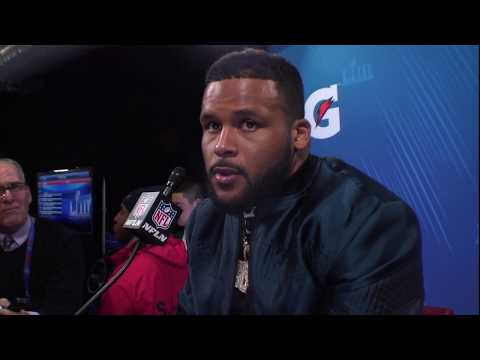 """Aaron Donald """"I Feel Like I Let My Team Down"""" 