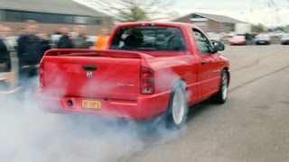 Dodge RAM SRT10 AMAZING BURNOUT !!