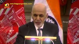 PM Modi and Afghanistan President Ghani speech at Joint Press Conference